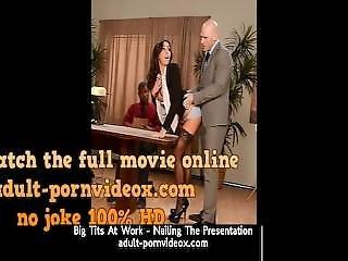 Big Tits At Work - Nailing The Presentation