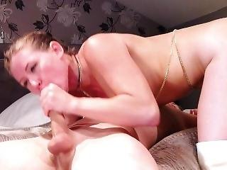 Rimming, Deepthroat And Creamy Cum
