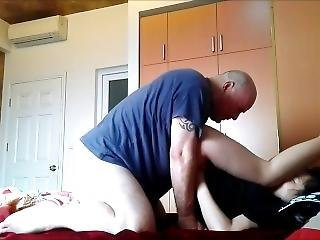 Petite Asian Virgin Girlfriend Learns More About Being My Sex Slave