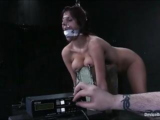 bondage, fétiche, brusque, sexe