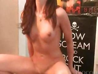 Two Busty College Girls Humping Dicks In 4some