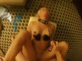 Pov Vagdestroyer Breaks Choke Collar Fucking Blonde - She Screams For More