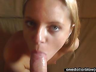 Sweet Blonde Gets Messy In Pov Movie