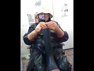 Wanking And Cumming In My Rubber.