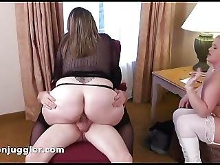 Hubby Fucks His Wifes Friend She Watches
