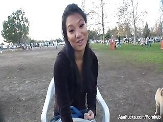 Behind The Scenes Interview With Asa Akira%2C Part 2