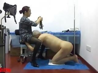 chinesa, femdom, fetishe