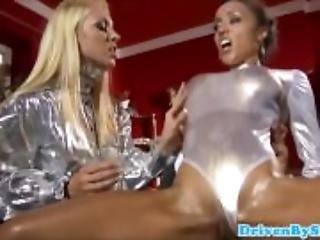 Threesome with bigtitted Escorts - www Gozzillaporn com