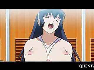 Sexy Anime Girls Taken Hard In Locker Room