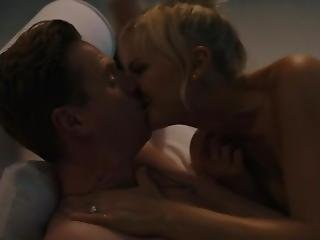 Malin Akerman Topless In Billions S02 E06