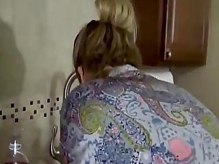 Mom S Hand Gets Stuck In Sink. Gets Pounded