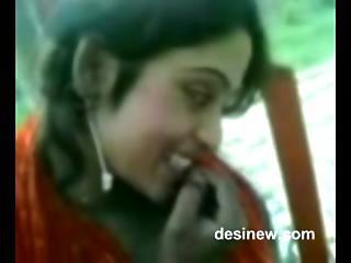 Desi Beauty Teen Hot Outdoor Enjoyment