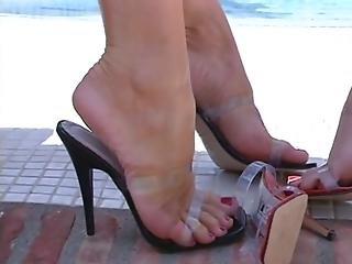 Blonde, Feet, Foot, Lesbian, Sex