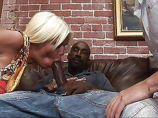 Bisexual Cuckold Sucks Black Cock That Fucks His Wife