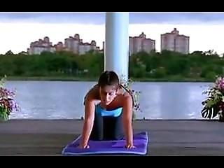 Yoga Girl Bending