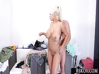 Babe Gets Titties Cumshot