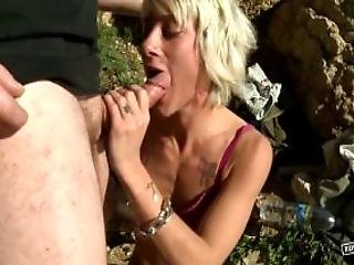 Nikky Petite French Girl Hard Throated And Assfucked