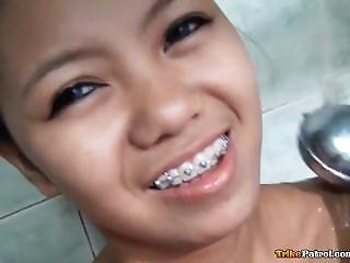 Tight Filipino With Braces