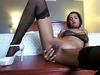Jerk Off Instructions With Milf In Stockings And Heels