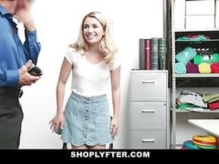 Shoplyfter - Gorgeous Shoplifter Gets Caught And Punished With Cock