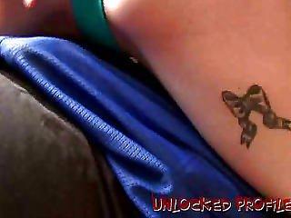 Tattooed Ex-girlfriend Sailor Lapdance