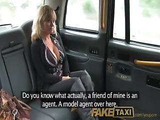 American, Big Tit, Milf, Taxi