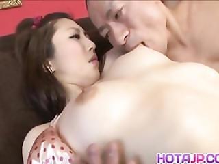 Koyuki Hara Hot Asian Milf Is Pussy Licked Before Giving Deepthroat Blowjob