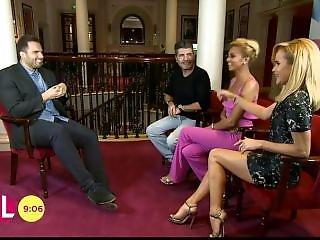 Amanda Holden - Amazing Legs In Mini Dresses!!