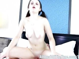 All Anal All The Time 18 Yr Old Anastasia Rose Anal Creampie!