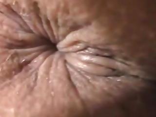anal, anus, närbild, samling, fetish, pov