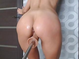 amateur, cul, gros cul, nique, machine à niquer, masturbation, orgasme, chatte, brusque, sexe, solo, Ados, jouets