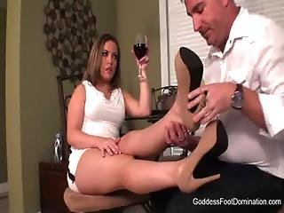 Domination, Femdom, Fetish, Foot, Worship