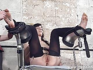 Bsdm, Bondage, Cella, Piedi, Fetish, Piede, Schiava, Sculacciata, Tortura