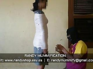 Mummified Indonesian School Girl 017 - Clip