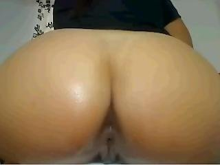 Beautiful Ass Latin Shoved Banana In Ass And Swallows It