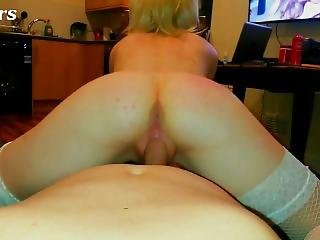 Pov Teen Riding - Cowgirl & Swallow (sex Masters Pl)