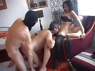 French Swinger Nabila - Bisexual Orgy