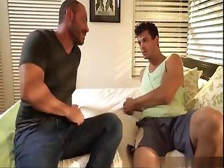 Straighty Conned Into Gay Blowjob By Girl