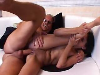 Skinny German Girl Hard Fucked In The Tight Asshole