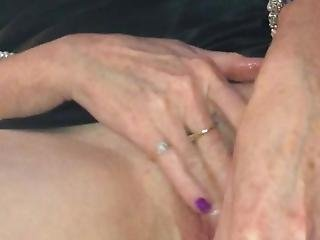 Wife Uses Fingers And Vibrator. She Orgasms Hard As Friend Films