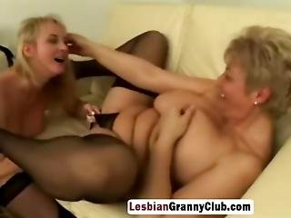Horny Blonde Gilfs Licking Cunts In Sixty Nine