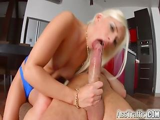 Asstraffic Blonde Is Face Fucked In This Scene