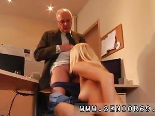 Old Fat Grandpa Paul Rock-hard Fuck Christen