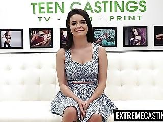 Teen Kacey Quinn Didn T Expect To Get Broken At Casting