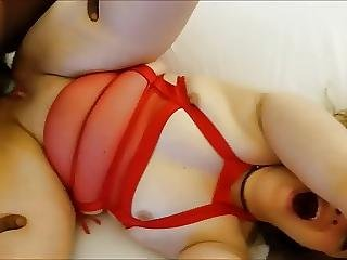 Wife Screaming While Taking Bbc