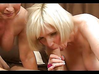 Two Mature Ladies Bang Young Guy