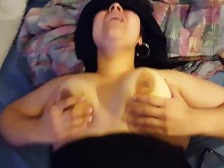 Big Tit Latina Blindfolded And Fucked