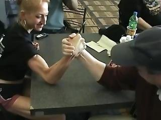 Mixed Armwrestling Kelly