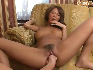 Tiny Asian Squirts While Being Fisted