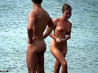 Spiaggia, Nudisti, All'aperto, Inconsapevole, Voyeur